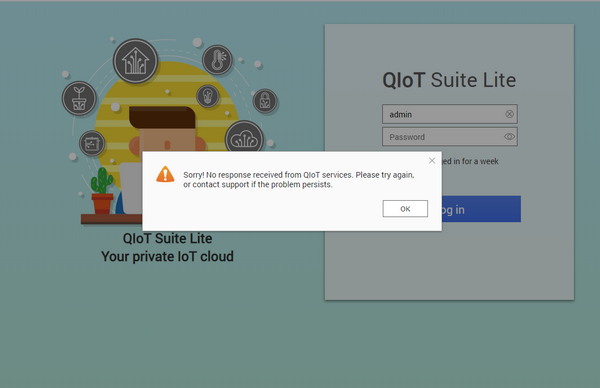 What to do if you cannot access QIoT Suite Lite?   QNAP (UK)