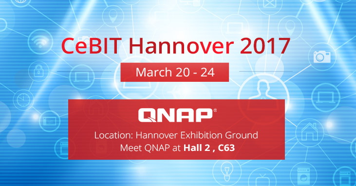 qnap to showcase thunderbolt 3 nas smart home and qiot solutions