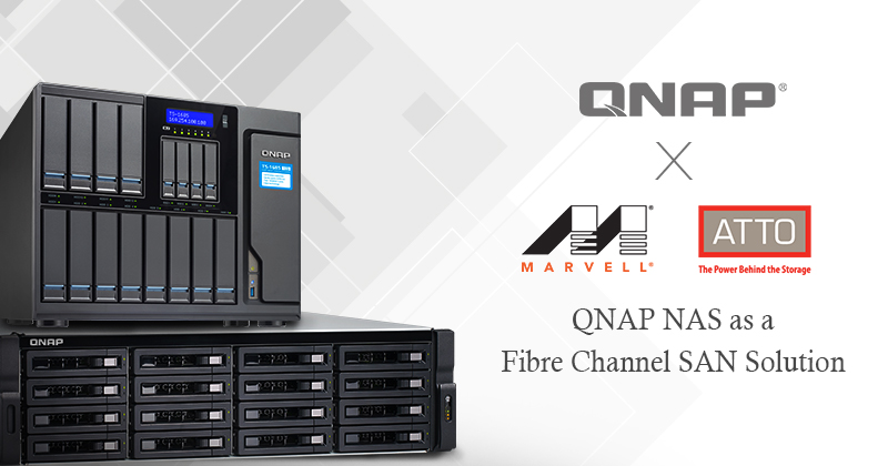 QNAP to Introduce Fibre Channel Connectivity Solution for