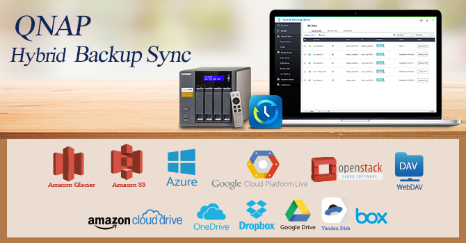QNAP Releases All-In-One Hybrid Backup Sync for Efficient Data