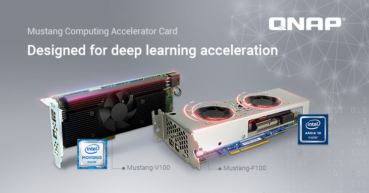 QNAP Introduces Mustang Series Computing Accelerator Cards