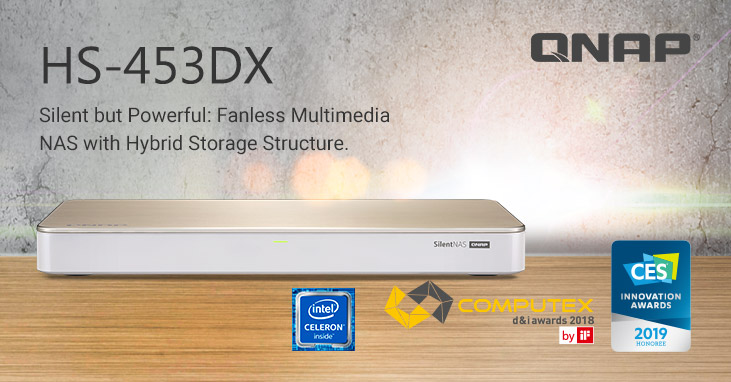 New QNAP HS-453DX Silent NAS: The Ultimate Home NAS with an