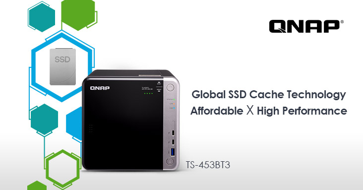 QNAP's Industry-Leading Global SSD Cache Technology Provides Best