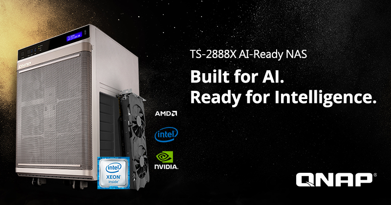 QNAP Officially Launches the TS-2888X AI-Ready NAS for