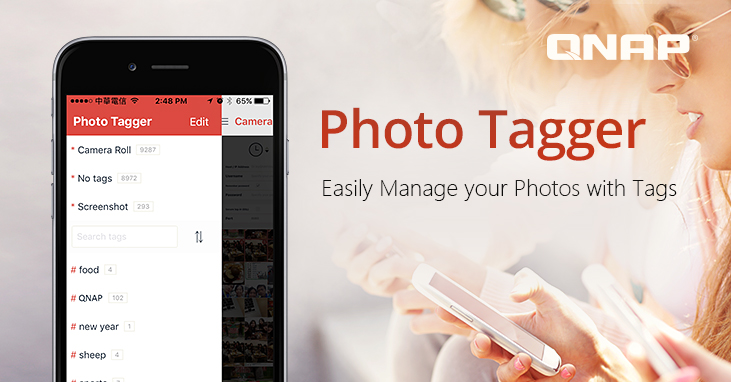 QNAP Releases Photo Tagger, an iOS® App for Adding Tags to Photos