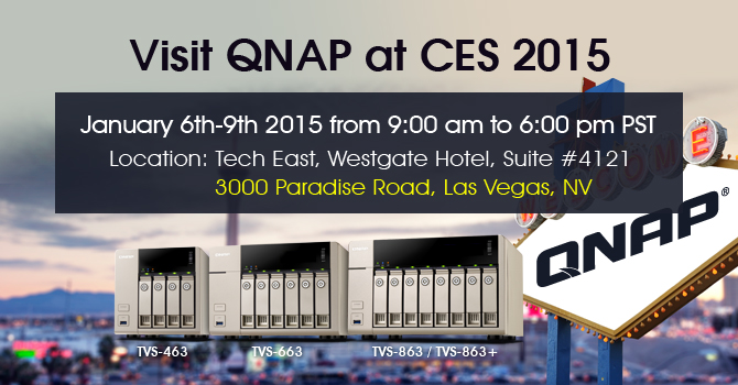 Pre-CES Surprise - QNAP Readies First-ever AMD-powered Ready