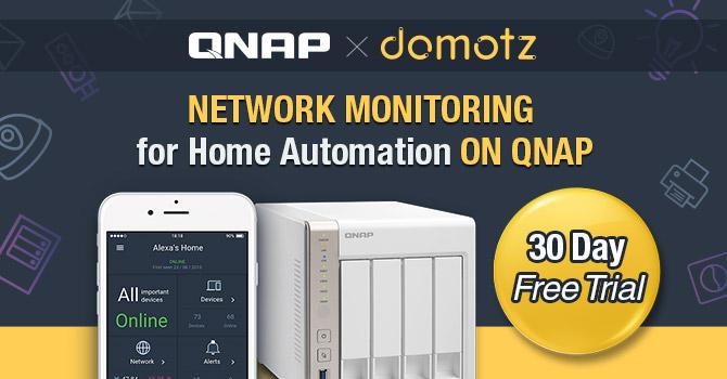 QNAP App Center Adds Domotz Pro System for Home Automation | QNAP