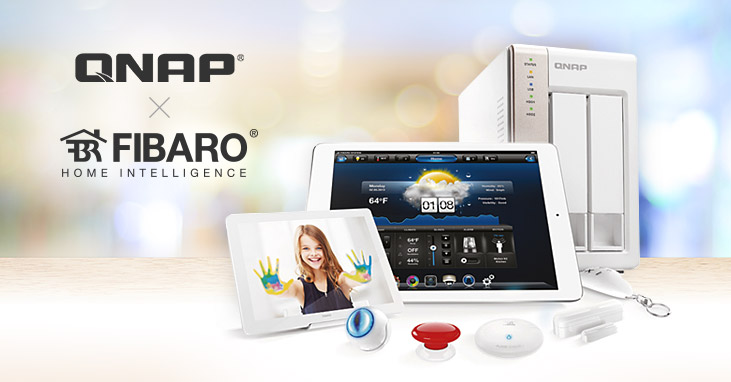 qnap starts cooperation with fibaro providing a feature packed hub for smart home systems qnap. Black Bedroom Furniture Sets. Home Design Ideas
