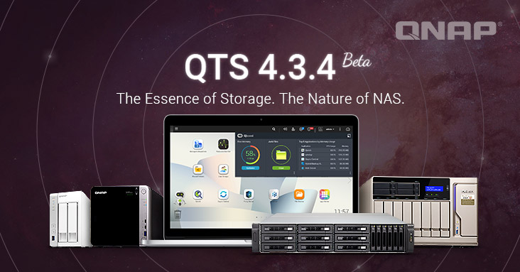 Experience practical features of QNAP QTS NAS storage management operating system