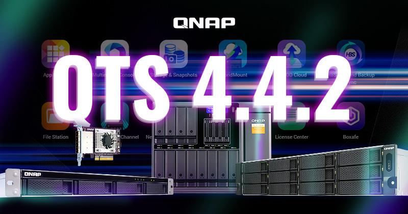 QNAP presenta QTS 4.4.2