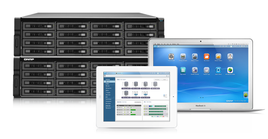 QNAP TS-1079Pro TurboNAS QTS Drivers for Windows Mac