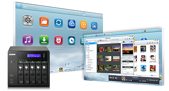 QNAP TS-269Pro TurboNAS QTS Windows 8 X64