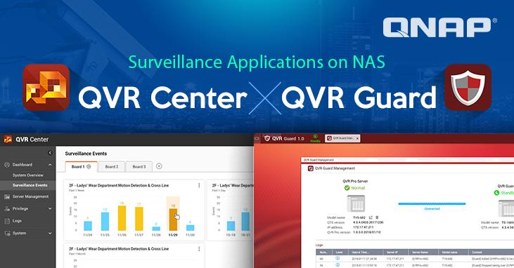 QNAP Launches QVR Center and QVR Guard, Extending QVR Pro's