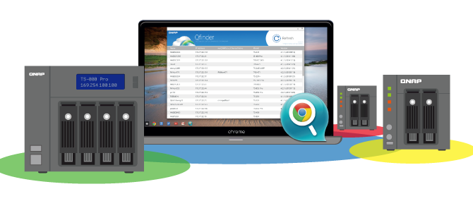 QNAP Releases New Qfinder Pro App, Adding Chromebook Support