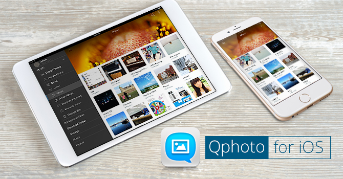 QNAP Releases Qphoto Mobile App for iOS, Customizing User