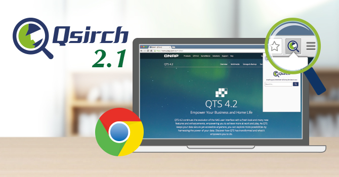 QNAP Releases Updated Qsirch 2 1 with the Qsirch Helper Chrome