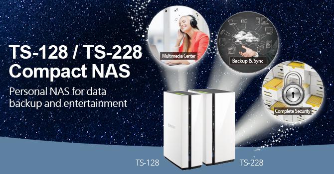 Dual-core Compact NAS TAS-x28