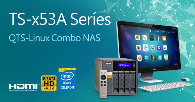 QNAP ra mắt dòng NAS Quad-Core TS-x53A - 106305