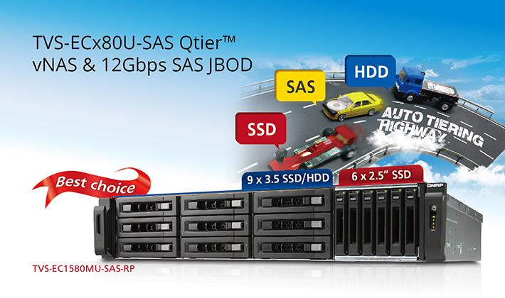 TVS-ECx80U-SAS & REXP-x20U-RP