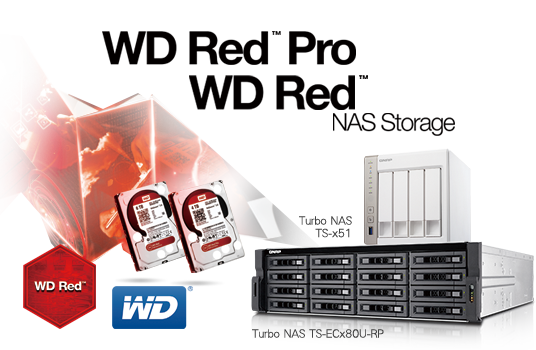 QNAP Announces Support for the New WD Red® 3 5-inch 5/6TB