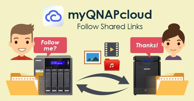 myQNAPcloud service
