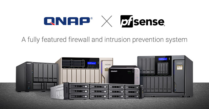 QNAP Strengthens Secure Networking with pfSense - Download