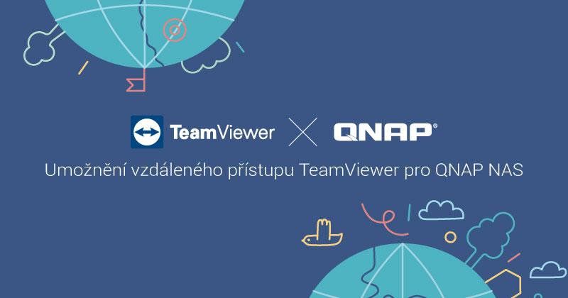 QNAP x Teamviewer