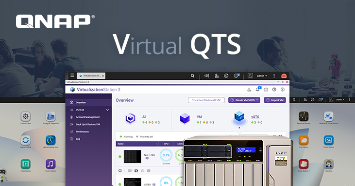 QNAP Introduces vQTS: Initially Available for TS-x77 Ryzen