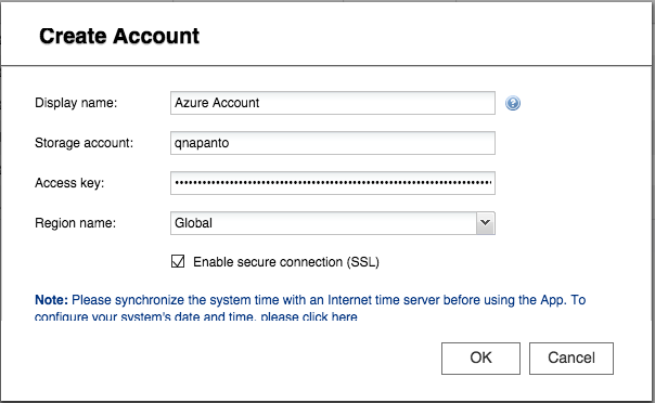 how to connect to azure storage