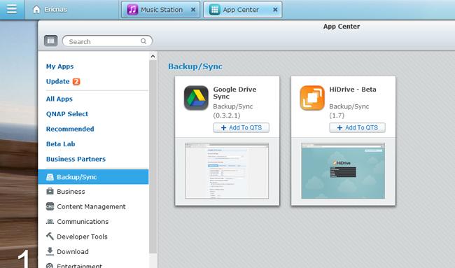 Backup QNAP NAS to Google Drive