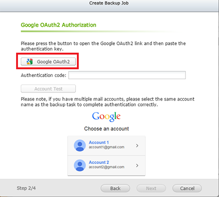 How to backup your Gmail account to a QNAP Turbo NAS? | QNAP (IN)