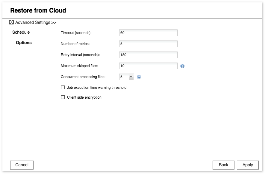 How to backup or sync to cloud service in Hybrid Backup Sync? | QNAP
