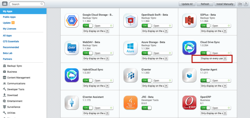 Connect to your Cloud Storage smoothly with Cloud Drive Sync on QNAP
