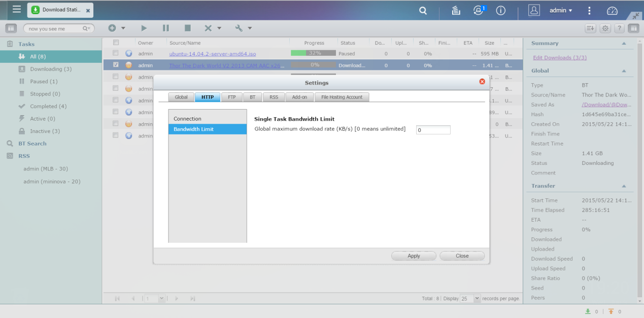 How to download files with Download Station? | QNAP (AU)