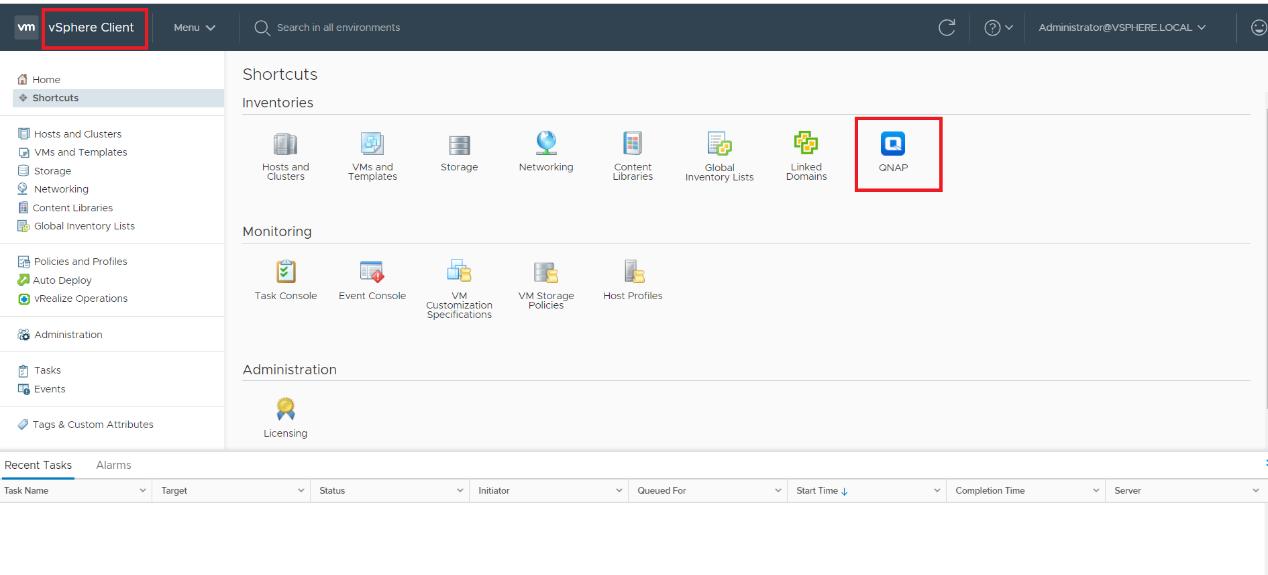Using QNAP vSphere Client Plug-in (HTML) with QNAP ES NAS   QNAP