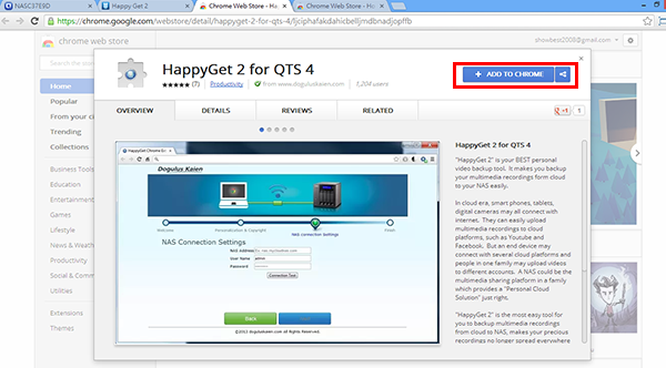 How to use HappyGet 2? | QNAP