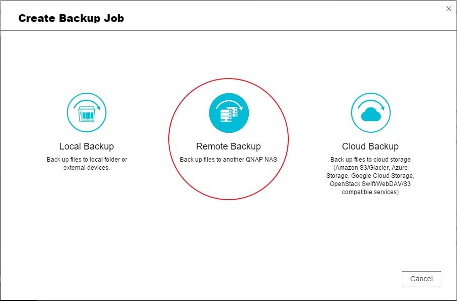 Hur du använder Hybrid Backup Sync för att säkerhetskopiera