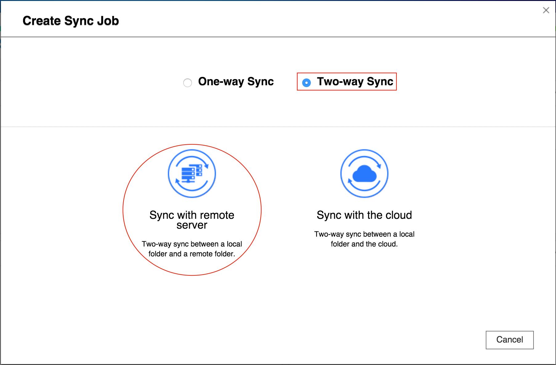 How to use Hybrid Backup Sync to backup/restore/synchronize