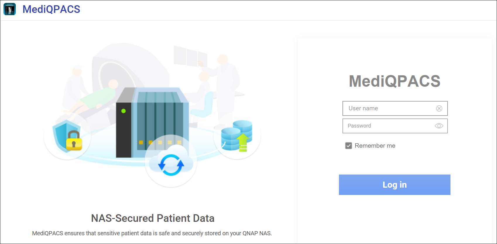 MediQPACS Beginner Tutorial   QNAP