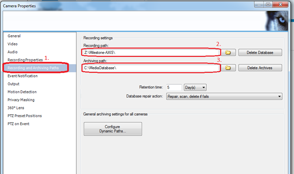 How to configure Milestone XProtect video management
