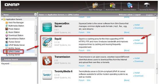 Qnap Proxy Server | Qnap Advanced Support