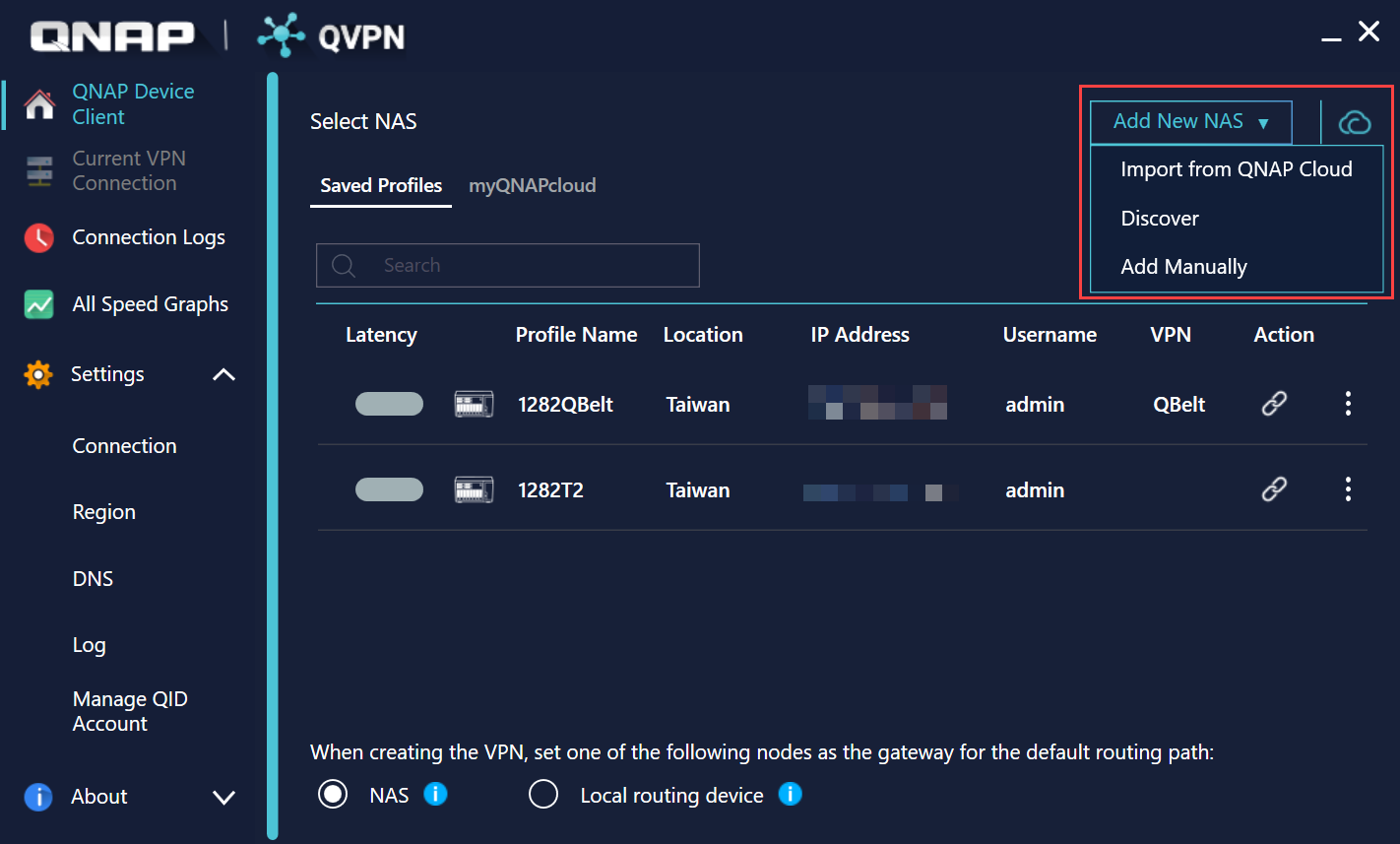 How to set up and use QVPN 2 0 ? | QNAP (US)