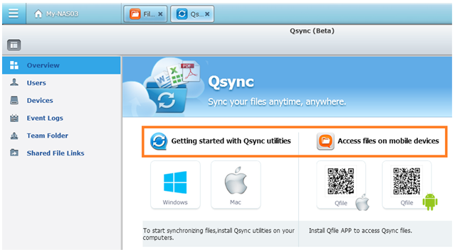 QSYNC WINDOWS TÉLÉCHARGER