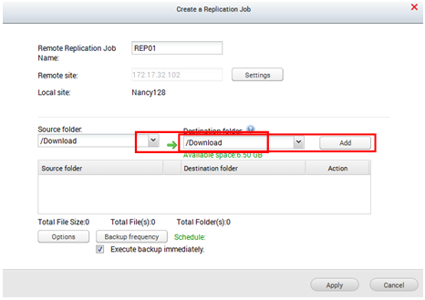 How to Set up Remote Replication on QNAP NAS? | QNAP