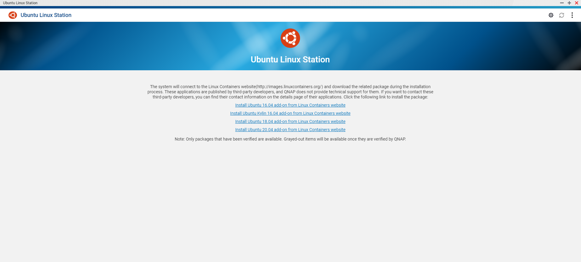 How to install Ubuntu on Linux Station and launch software