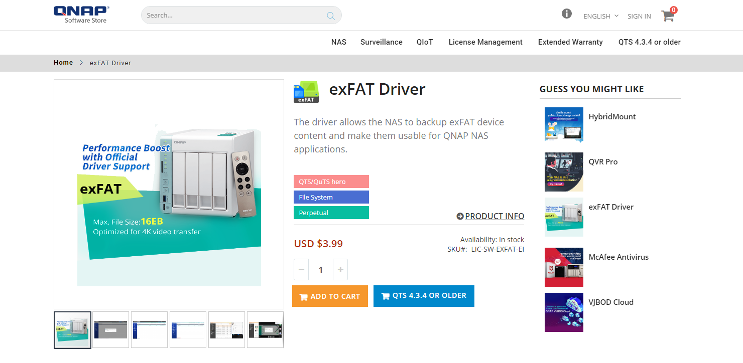 How can I use exFAT storage devices with a QNAP NAS? | QNAP (US)