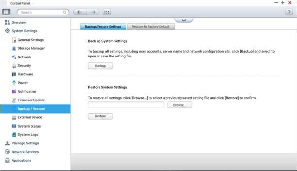 qnap nas firmware update error 4