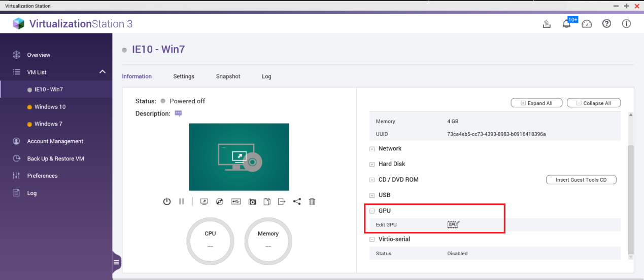 How to set up and use GPU pass-through in Virtualization