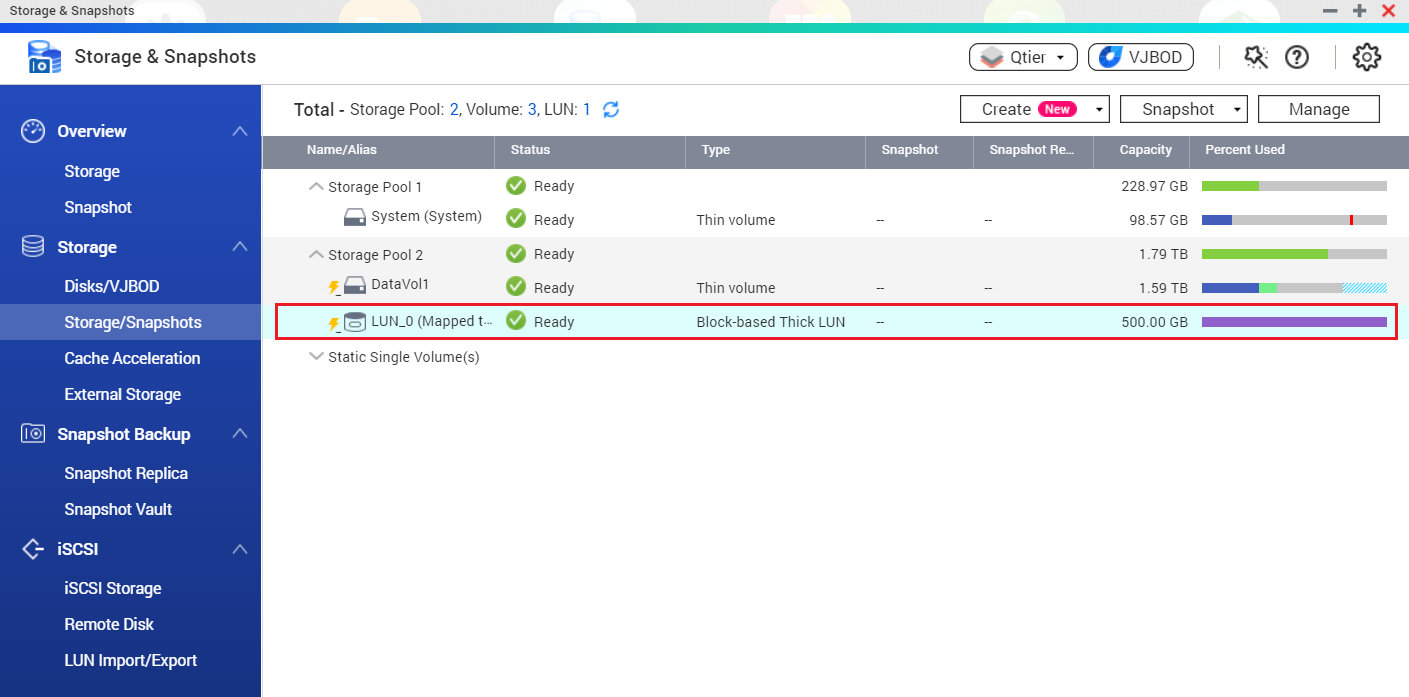 Introduzca la dirección IP del NAS para iniciar la detección.