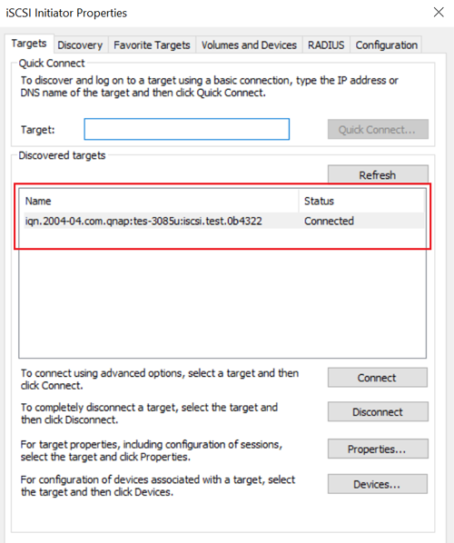 How to create and use the iSCSI target service on a QNAP NAS   QNAP (AU)